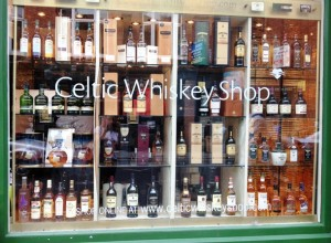 shop Celtic Whiskey Shop